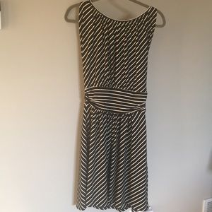 Express striped sleeveless dress Size S